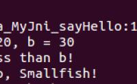 【JNI】C语言调用Java方法(反射)