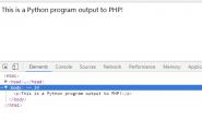 PHP调用Python脚本