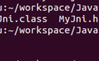 Java JNI初体验
